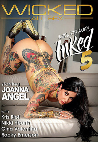 Axel Braun's Inked 5 Adult Movies DVD