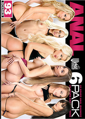 Anal 6 Pack (6 Disc Set) Sex DVD