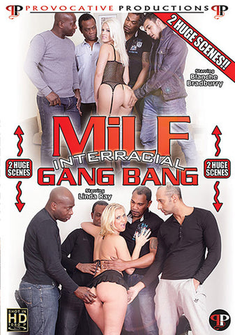 MILF Interracial Gang Bang XXX Adult DVD