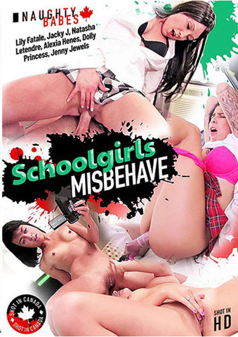 Schoolgirls Misbehave XXX Adult DVD