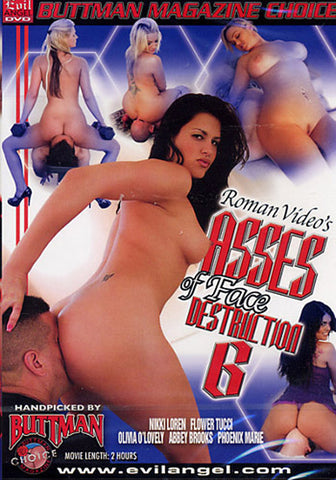 Asses Of Face Destruction 6 XXX Adult DVD