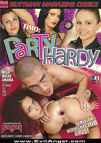 Timo: Party Hardy XXX Adult DVD
