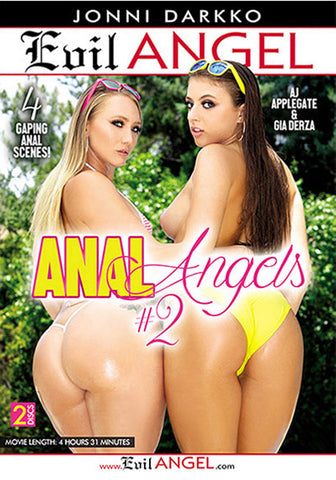 Anal Angels 2 (2 Disc Set) Adult DVD