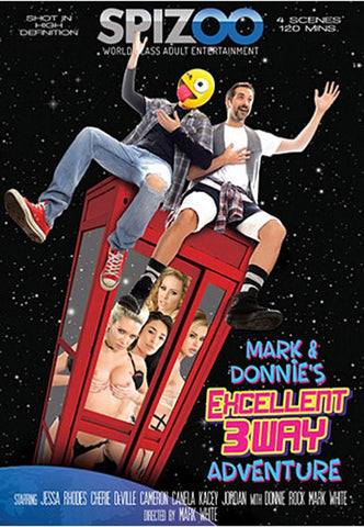 Mark & Donnie's Excellent 3Way Adventure XXX DVD