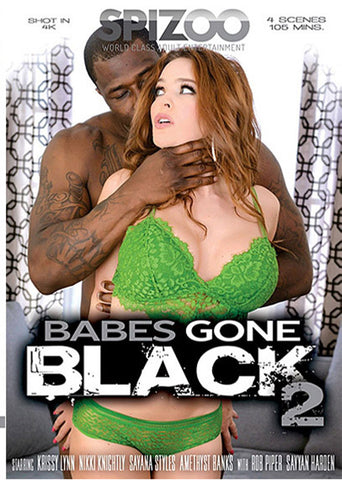 Babes Gone Black 2 Adult DVD