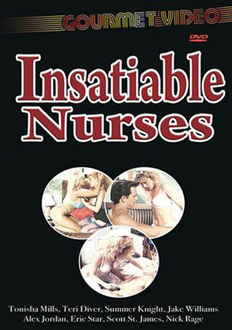 Insatiable Nurses Sex DVD