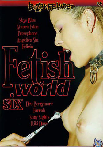 Cheap Fetish World 6 porn DVD