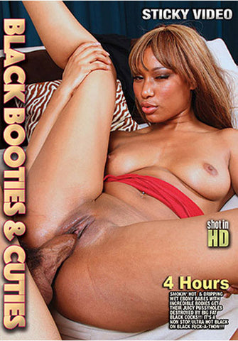 Black Booties & Cuties Adult DVD