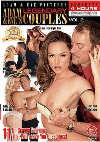 Adam & Eve's Legendary Couples 2 Adult DVD