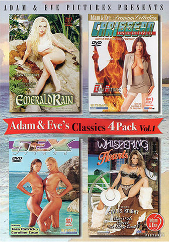 Adam & Eve's Classics 4 Pack (4 Disc Set) Adult DVD