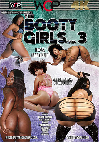 The Booty Girls.com 3 Adult DVD