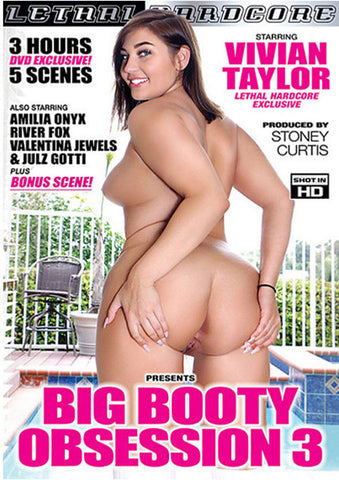 Big Booty Obsession 3 Porn DVD