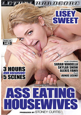 Ass Eating Housewives Sex DVD