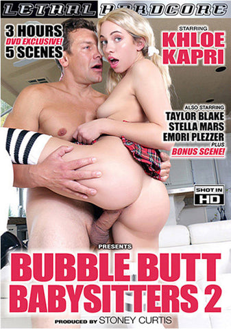 Bubble Butt Babysitters 2 Adult Sex DVD