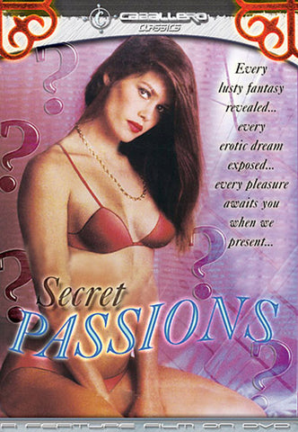 Cheap Secret Passions porn DVD