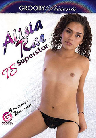 Alisia Rae TS Superstars Adult Sex DVD