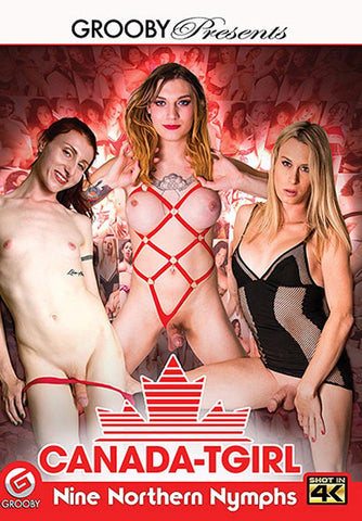 Canada Tgirl: Nine Northern Nymphs XXX DVD