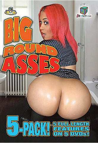 Cheap Big Round Asses 5 Pack porn DVD