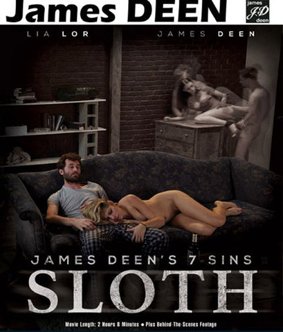 James Deen's 7 Sins Sloth Sex DVD