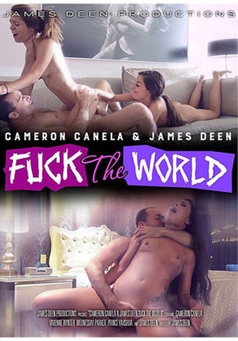 Cameron Canela & James Deen Fuck The World Adult Movies DVD
