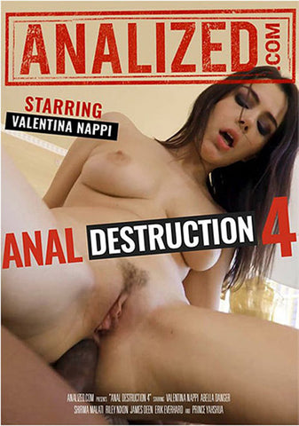 Anal Destruction 4 Adult DVD