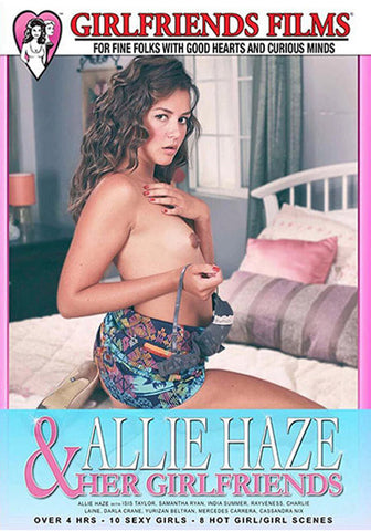 Allie Haze & Her Girlfriends XXX DVD