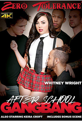 After School Gangbang XXX DVD