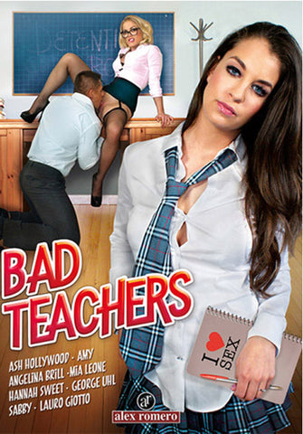 Bad Teachers Porn DVD