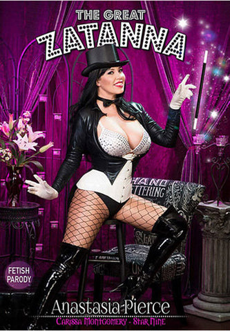 The Great Zatanna XXX DVD
