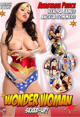 Wonder Woman: Sexed-Up Adult Sex DVD