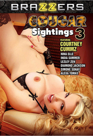 Cougar Sightings 3 Adult Sex DVD
