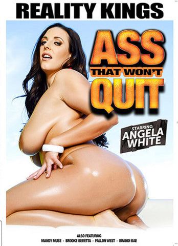 Ass That Won't Quit Adult Sex DVD