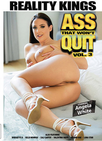Ass That Won't Quit 3 Porn DVD