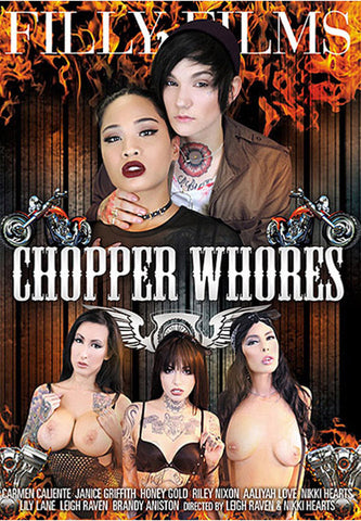 Chopper Whores Adult Movies DVD