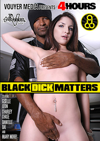 Black Dick Matters Adult Movies DVD