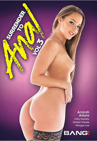Surrender To Anal 3 Porn DVD