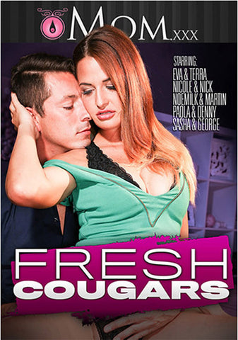 Fresh Cougars XXX Adult DVD
