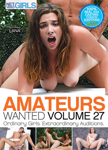 Amateurs Wanted 27 Adult Movies DVD
