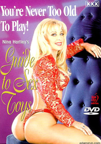Nina Hartley's Guide To Sex Toys Sex DVD