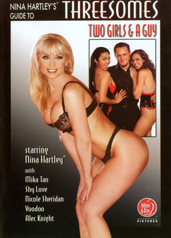 Cheap Guide To Threesomes Two Girls & a Guy porn DVD
