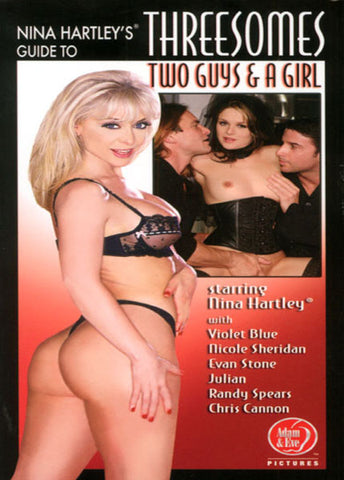 Cheap Guide To Threesomes Two Guys & a Girl porn DVD