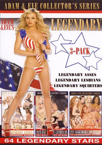 Adam & Eve's Legendary 3 Pack (3 Disc Set) Sex DVD