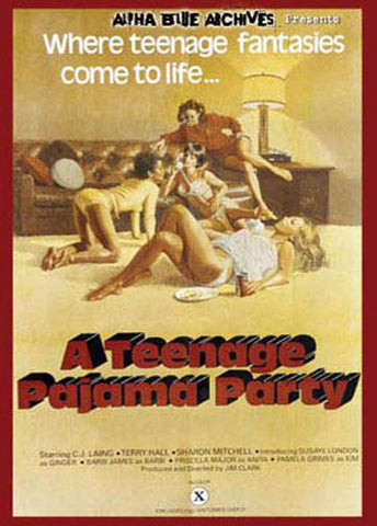 Cheap A Teenage Pajama Party porn DVD