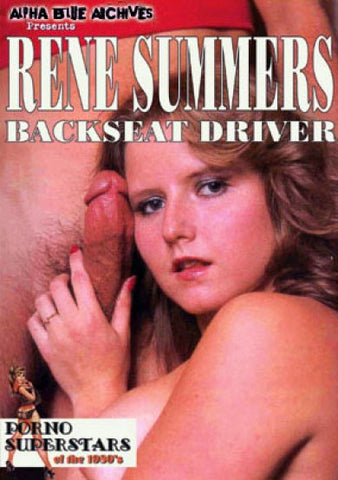 Cheap Rene Summers Backseat Driver porn DVD