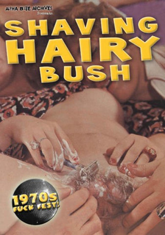 Cheap Shaving Hairy Bush porn DVD