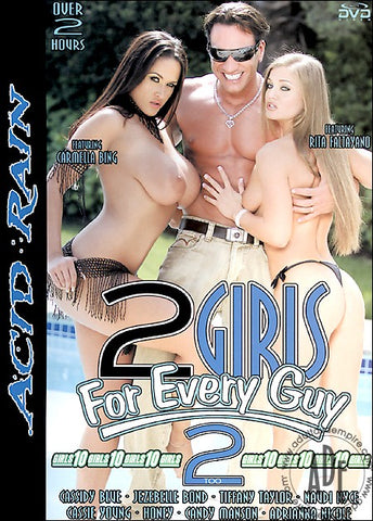 Cheap 2 Girls For Every Guy 2 porn DVD