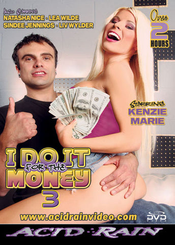 Cheap I Do It For The Money 3 porn DVD