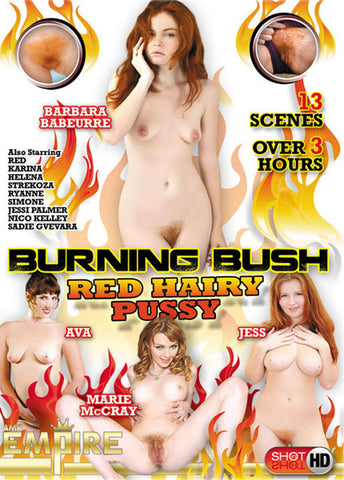 Cheap Burning Bush: Red Hairy Pussy porn DVD