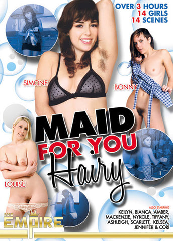 Cheap Maid For Your Hairy porn DVD