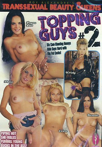 Transsexual Beauty Queens Topping Guys 2 XXX Adult DVD